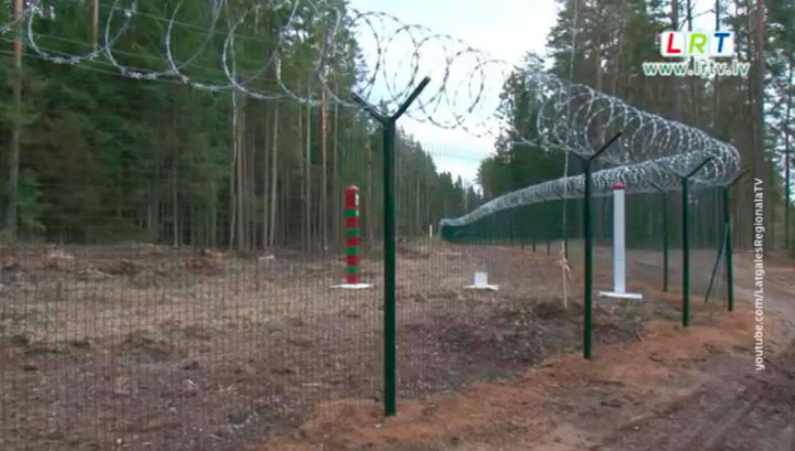 Латвия жалуется на нехватку денег для обустройства границы с Россией