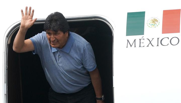 Моралес готов вернуться в Боливию, чтобы мирно вывести страну из кризиса