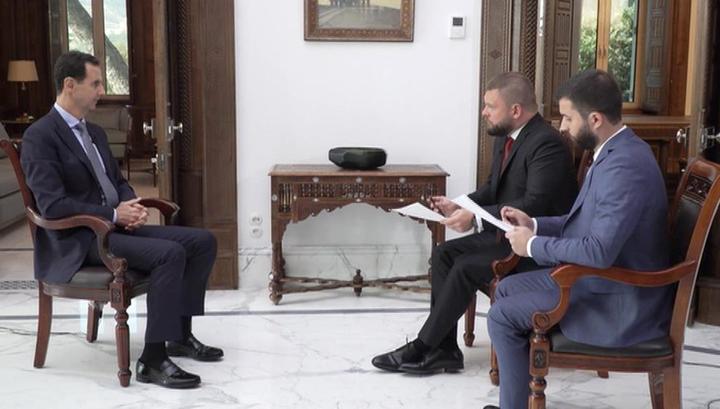 """Асад о смерти бен Ладена и основателя """"Белых касок"""": они выполнили роль и стали обузой"""