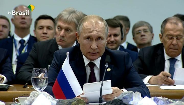 Председательство России в БРИКС: Путин рассказал о планах