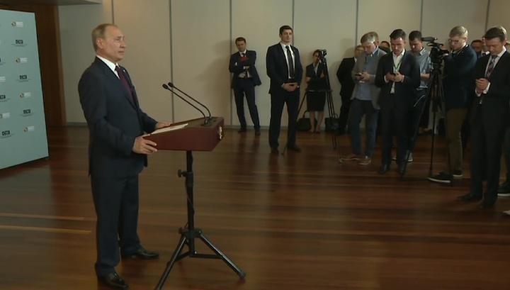 Владимир Путин заявил о риске прекращения транзита газа через Украину