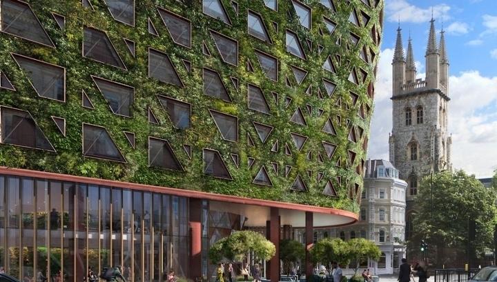 В Лондоне построят дом, который очистит воздух