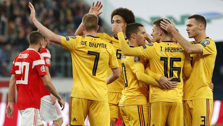 Братья Азары и Лукаку принесли сборной Бельгии победу в Санкт-Петербурге