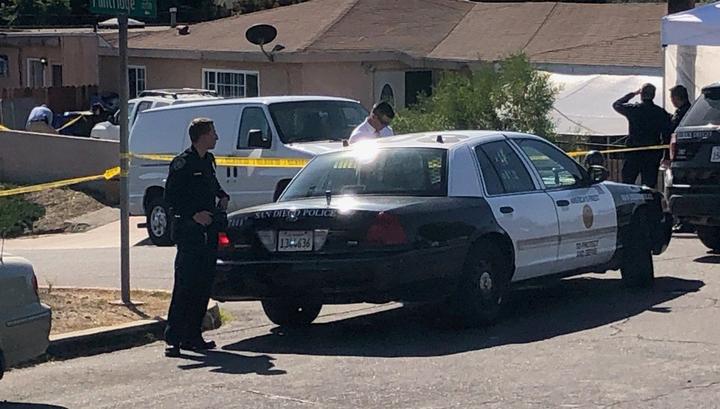 Стрельба в Сан-Диего: пять человек убиты, среди них - три ребенка