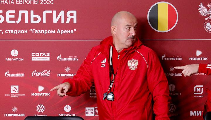Россия - Бельгия – 1:4. Черчесов сетует на силу и класс соперника