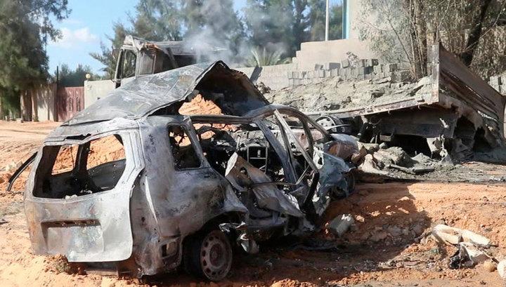 Авиаудар по кондитерской фабрике в Триполи: 10 человек погибли, 35 получили ранения