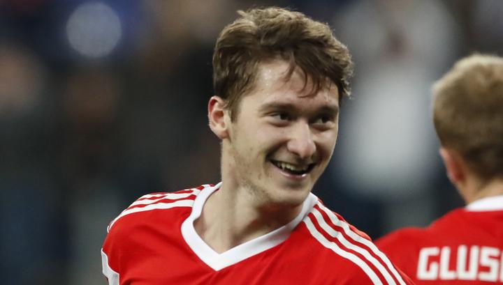 Сборная России крупно обыграла команду Сан-Марино в последнем отборочном матче