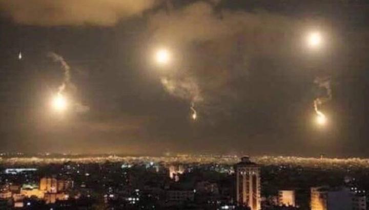 Сирийская ПВО отразила ракетную атаку