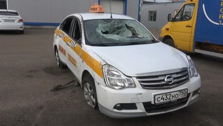 Вооруженный мечом рецидивист отобрал машину у подмосковного таксиста