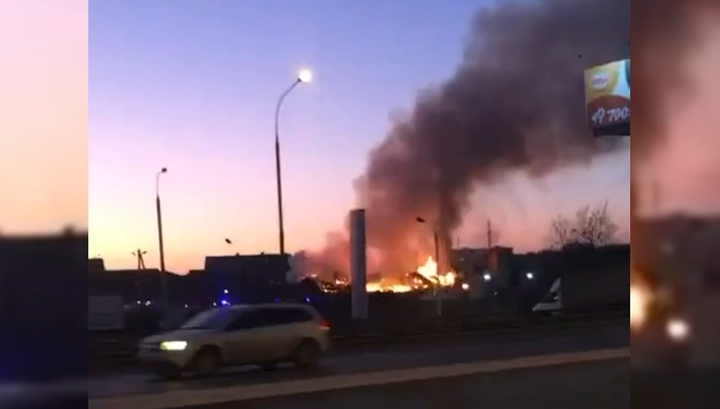 Пожар в Мосрентгене локализован. Есть пострадавшие