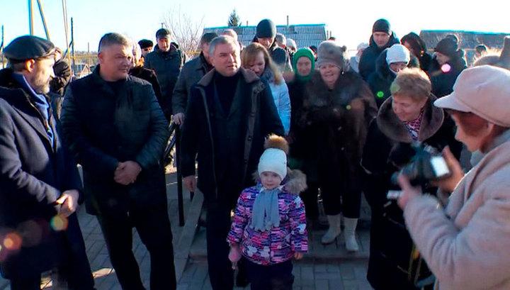 Вячеслав Володин прибыл с рабочим визитом в Саратовскую область
