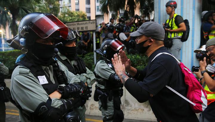 МИД Китая заявил решительный протест США по поводу Гонконга