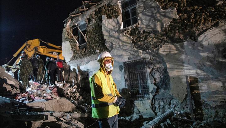 В Албании произошло новое сильное землетрясение