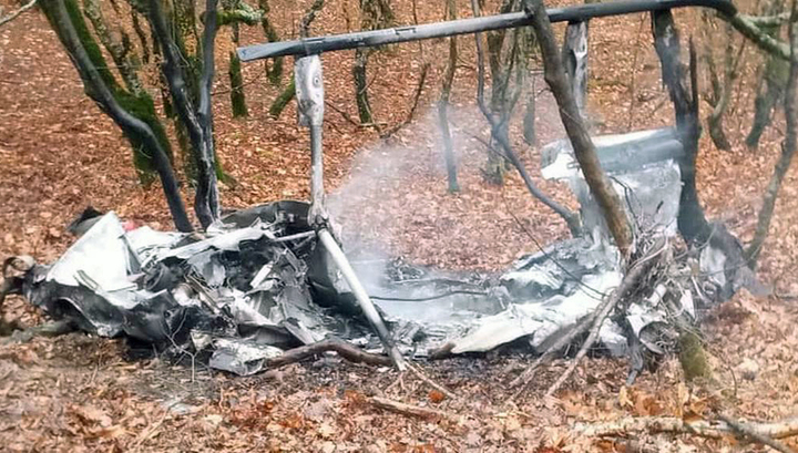 Крушение вертолета у Абрау-Дюрсо: у пилота было разрешение на полет