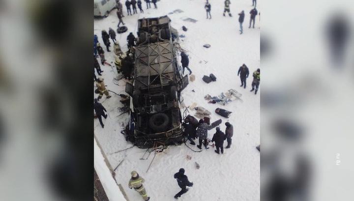 Возросло число жертв трагедии с автобусом в Забайкалье