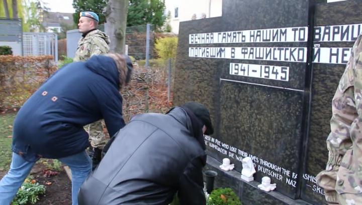 В Кельне почтили память советских солдат, погибших в плену