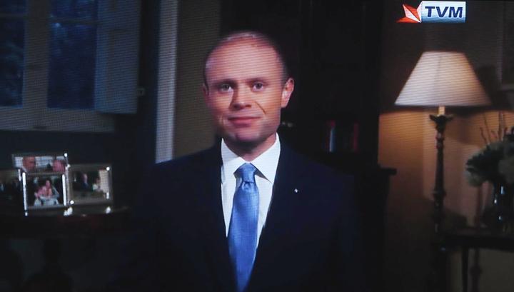 Премьер-министр Мальты объявил об уходе в отставку