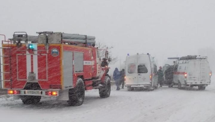 Под Старым Осколом перевернулся автобус с 30 пассажирами