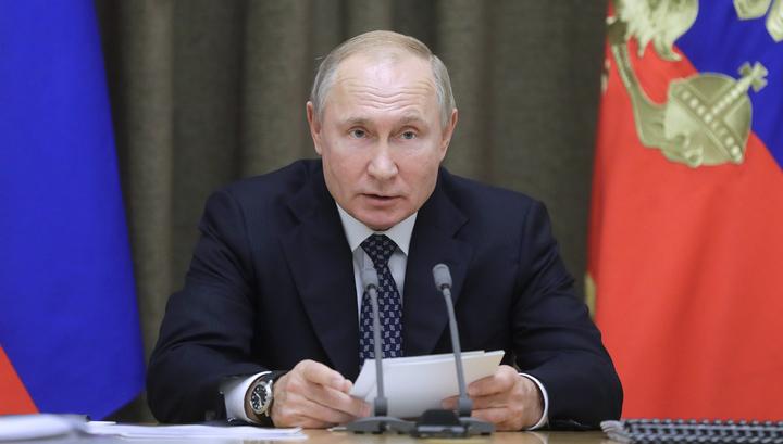 """Путин: количество кораблей с """"Калибрами"""" увеличится вдвое"""