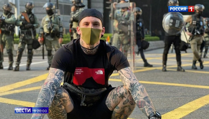 Свастика в Гонконге: украинские неонацисты приехали делиться опытом