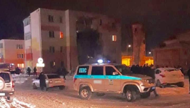 Взрыв газа под Белгородом разрушил стену четырехэтажного дома
