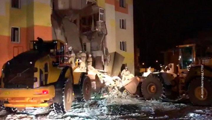 Взрыв газа в Белгородской области: под завалами найдено тело погибшего