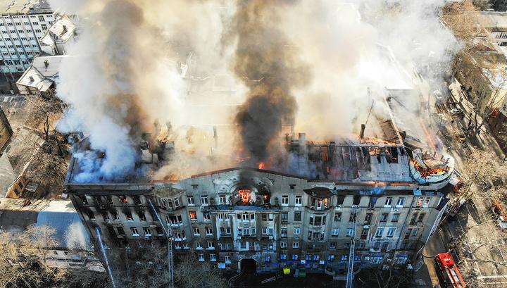 Пожар в Одессе: найдено тело второй погибшей