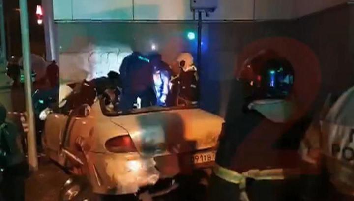 Водитель, въехавший в вестибюль МЦК, был пьян