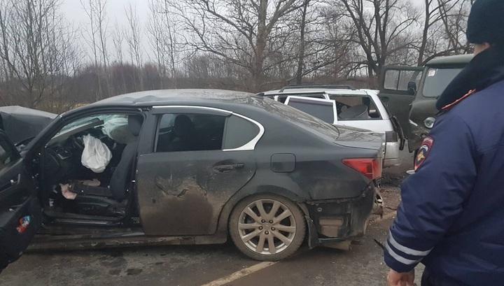 Три человека погибли в массовом ДТП во Владимирской области