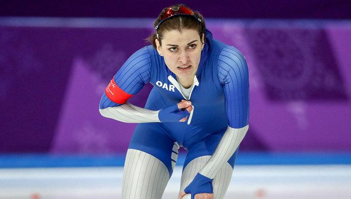 Коньки. Ангелина Голикова выиграла пятисотку на этапе Кубка мира