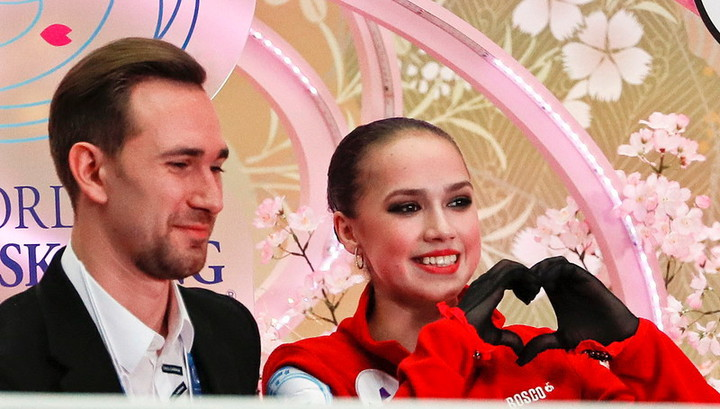 Даниил Глейхенгауз и Алина Загитова