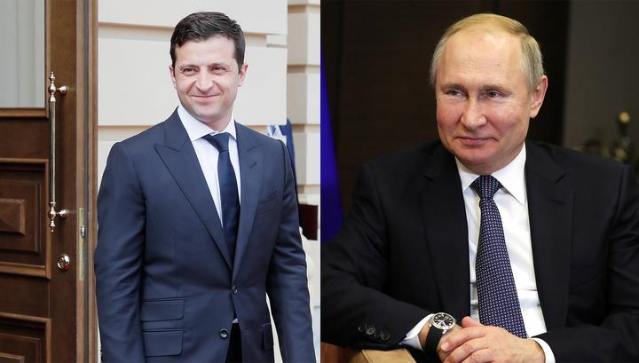 """Встреча Путина и Зеленского пройдет после саммита """"нормандской четверки"""""""