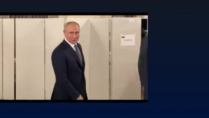 Путин заявил, что доволен результатами встреч в Париже