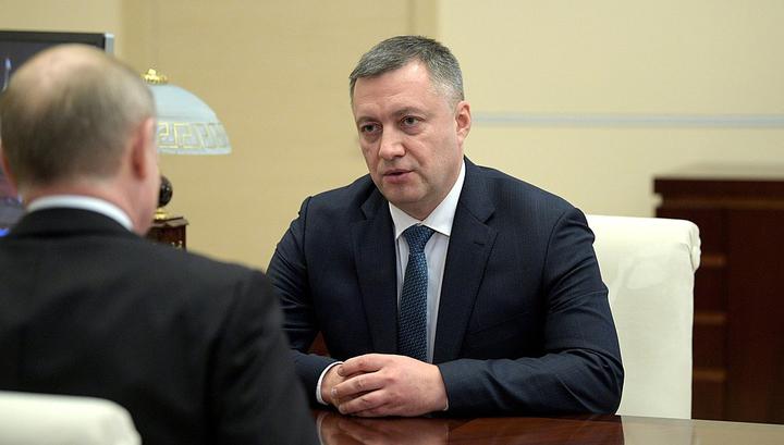 Врио губернатора Кобзев прибыл в Иркутскую область