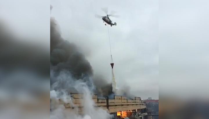 Пожар на складе в Чертанове потушен