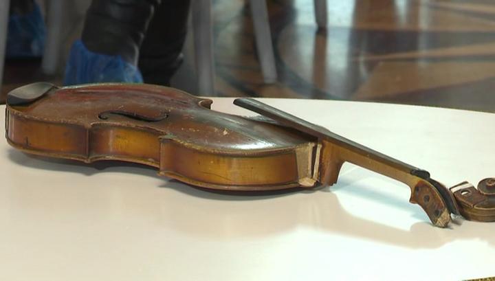 В российский музей передана уникальная скрипка, изъятая у контрабандистов