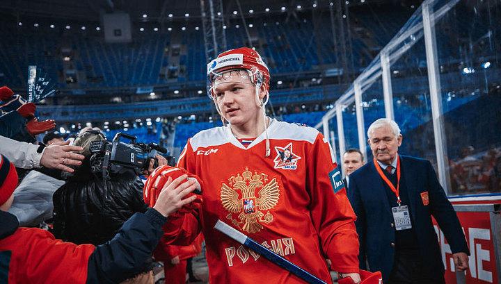 Кирилл Капризов назван самым ценным игроком Еврохоккейтура