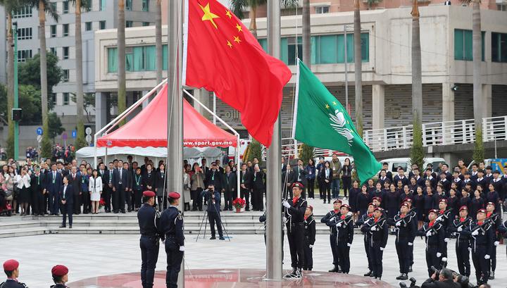 В Макао отмечают 20 лет с момента присоединения к Китаю