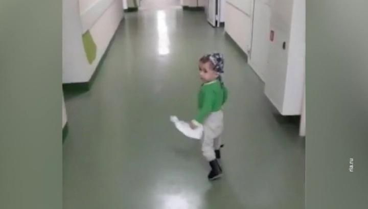 Ваня Фокин начал бегать. Видео