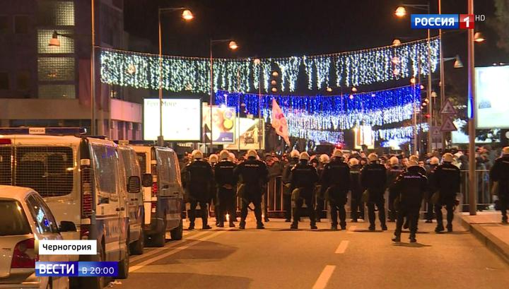 В Черногории тысячи верующих протестуют против нового закона о церкви