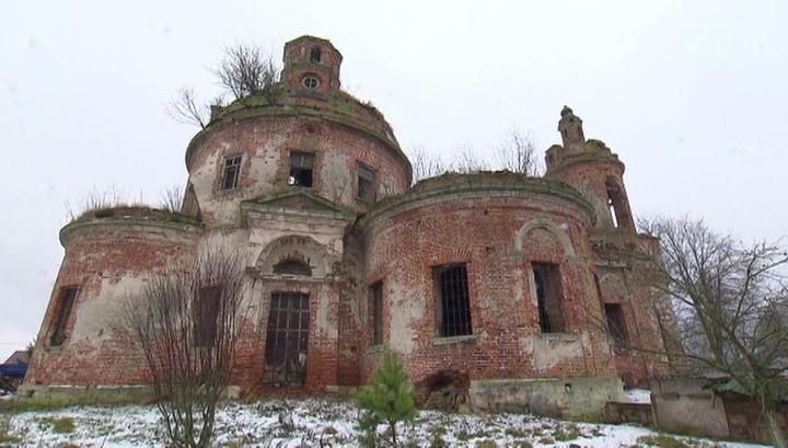 В Подмосковье гибнет храм, построенный великим Львовым