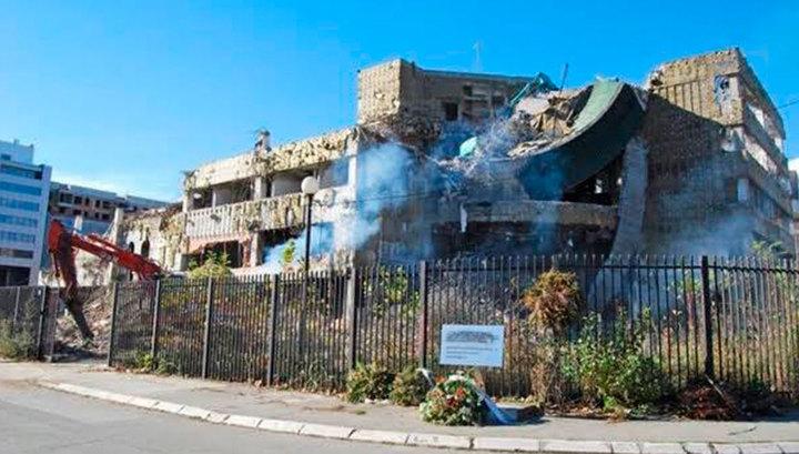 В центре Багдада из минометов обстреляли посольство США