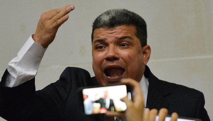 Противник Гуайдо объявил себя председателем Национальной ассамблеи Венесуэлы