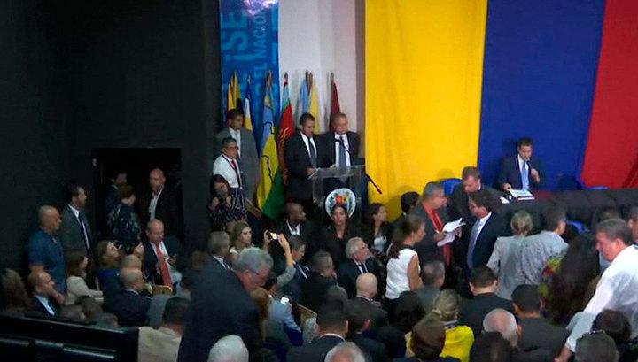 Оппозиция Венесуэлы вновь назначила Гуайдо главой парламента