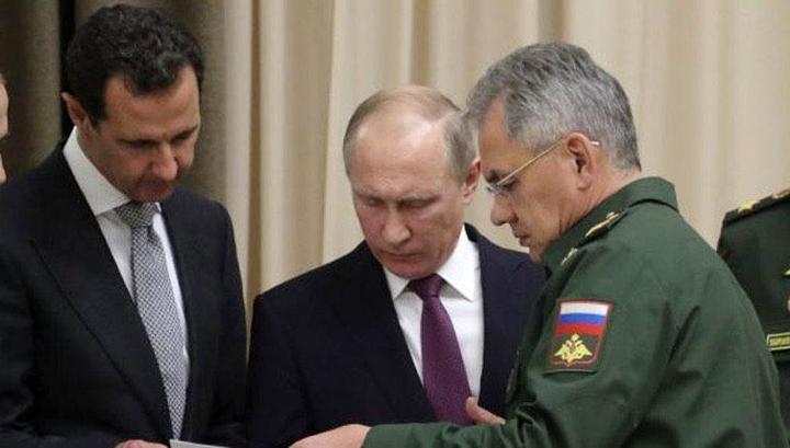 Путин в Дамаске провел переговоры с Асадом