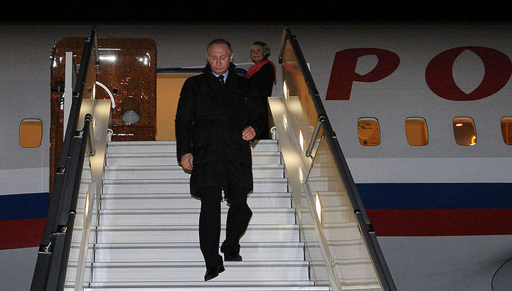 Владимир Путин после Сирии прибыл в Турцию