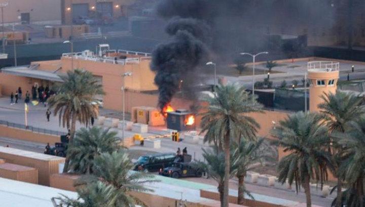 """В результате обстрела """"зеленой зоны"""" Багдада пострадавших нет"""