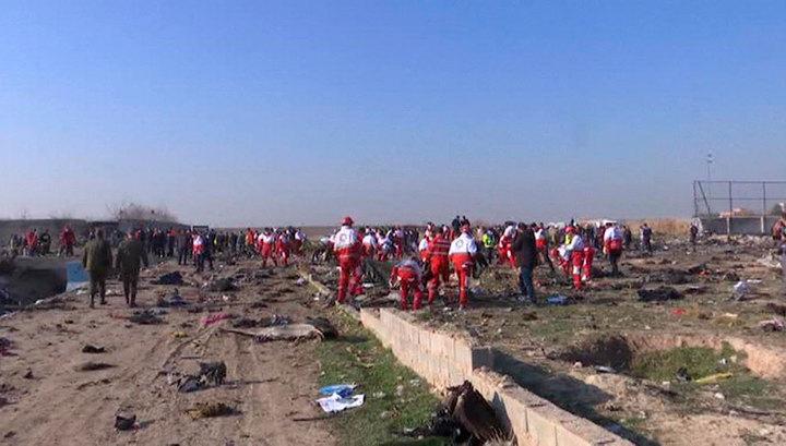 Власти Ирана: украинский самолет был сбит по ошибке