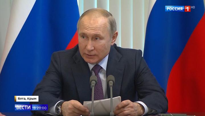 Ветхая медицина и высокие цены: Путин обозначил болевые точки Крыма