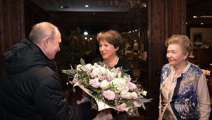 Президент Владимир Путин поздравил Татьяну Юмашеву с днем рождения